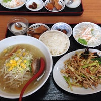 Photo taken at 中華菜館 天天美食 by nishio on 9/3/2013