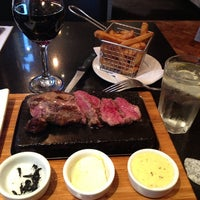 Photo taken at Steak & Co. by Gisele S. on 7/13/2013