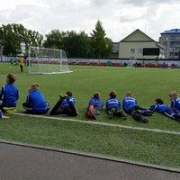 Photo taken at стадион Юбилейный by Katerina Y. on 5/27/2015