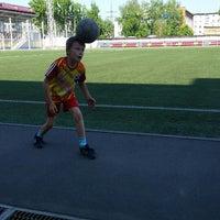Photo taken at стадион Юбилейный by Katerina Y. on 5/16/2015