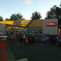 Photo taken at Tim Hortons / Esso by Abdulrahman A. on 9/5/2013