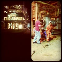 Photo taken at TSH Eco Pulp Paper Plant by Edir T. on 5/8/2014