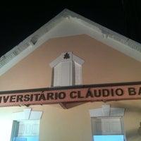 Photo taken at Teatro Universitário Cláudio Barradas by Marcelo L. on 7/10/2013
