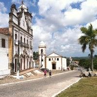Photo taken at Igarassu Sítio Histórico by Sergio on 12/12/2012
