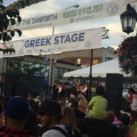 Photo taken at Greek Town, The Danforth by Treasure D L. on 8/13/2017
