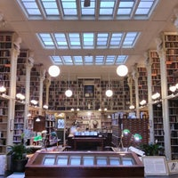Photo taken at Providence Athenaeum by Connald M. on 3/3/2013