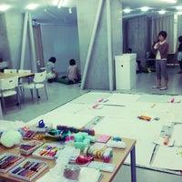 Photo taken at 黄金町芸術センター by natsuki m. on 5/25/2014