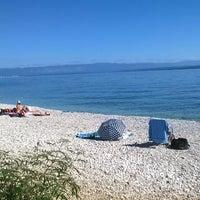 Photo taken at Plaža Beli by Milivoj F. on 9/28/2014