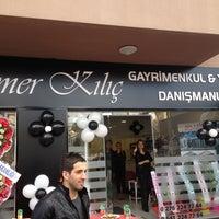 Photo taken at Ömer Kılıç Gayrimenkul &Yatırım Danışmanlığı by Berke K. on 12/19/2014