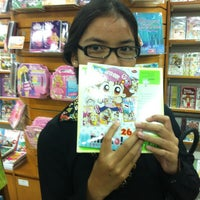 Photo taken at Gramedia by andro a. on 2/15/2014