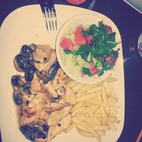 Photo taken at marjinal cafe by Selen G. on 1/21/2014