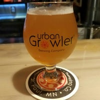Photo taken at Urban Growler Brewing Company by Tanya M. on 7/13/2018