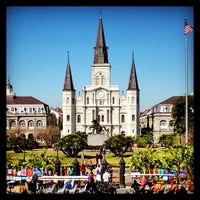 Photo taken at Jackson Square by Chris S. on 9/6/2013