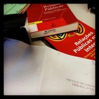 Photo taken at Biblioteca - UFSM - CESNORS - FW by Luisa B. on 4/16/2014