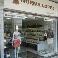 Photo taken at Norma Lopez Moda em Couro by Felipe C. on 9/25/2013