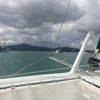 Photo taken at Ao Chalong Yatch Club by Ирина Л. on 10/26/2014