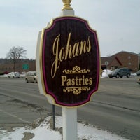 Photo taken at Johan's Pastry Shop by Kate H. on 2/18/2013