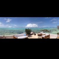Photo taken at The Rock Restaurant Zanzibar by Muhannad Y. on 3/2/2018