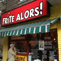 Photo taken at Frite Alors! by Pierre C. on 8/12/2013