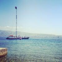 "Photo taken at Lido ""Capo peloro resort"" by Dario C. on 7/27/2013"