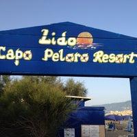 "Photo taken at Lido ""Capo peloro resort"" by Dario C. on 7/4/2014"