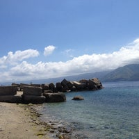 "Photo taken at Lido ""Capo peloro resort"" by Dario C. on 6/1/2014"