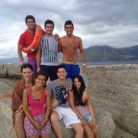 "Photo taken at Lido ""Capo peloro resort"" by Dario C. on 7/12/2014"