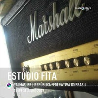 Photo taken at Estúdio Fita by Heitor I. on 7/30/2013