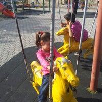 Photo taken at Çocuk Oyun Parkı by Ismet Y. on 4/23/2014