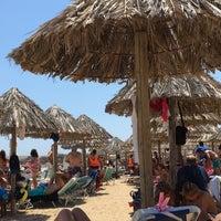 Photo taken at Santa Maria Beach by Thodoris S. on 8/18/2017