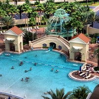 Photo taken at Parc Soleil: Pools and Waterslide by Ted J B. on 4/14/2013