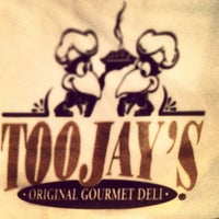 Photo taken at TooJay's Gourmet Deli by Ted J B. on 4/4/2013