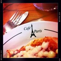 Photo taken at Café París by P S. on 1/15/2014
