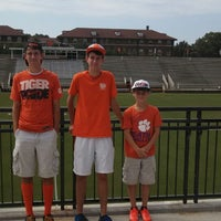 Photo taken at Historic Riggs Field by Trey W. on 9/7/2013