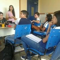 Photo taken at Escola Estadual Ruy Araujo by Reir P. on 8/26/2014