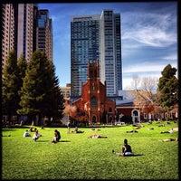 3/11/2013 tarihinde Alexander W.ziyaretçi tarafından Yerba Buena Gardens'de çekilen fotoğraf
