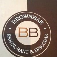 Photo taken at Brownbar by Olga C. on 5/10/2012