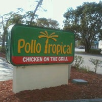 Photo taken at Pollo Tropical by Meshia F. on 4/13/2012