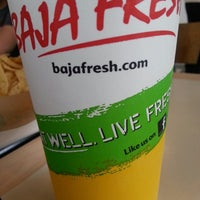 Photo taken at Baja Fresh by Mike S. on 1/26/2014