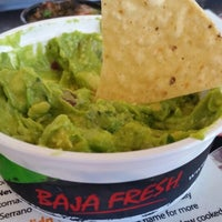 Photo taken at Baja Fresh by Mike S. on 6/29/2014