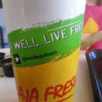 Photo taken at Baja Fresh by Mike S. on 3/30/2014