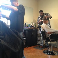 Photo taken at Visionz Barber & Beauty Lounge by Catrina W. on 8/22/2013
