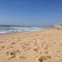 Photo taken at Praia do Norte by Marco O. on 9/30/2012