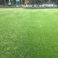 Photo taken at Unidad Deportiva Miguel Aleman Valdez by Gonzalo H. on 1/2/2016