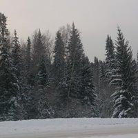 Photo taken at Приморск by Ekaterina M. on 1/3/2014