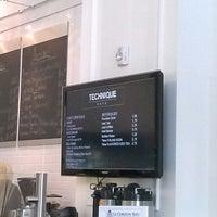 Photo taken at Technique Restaurant & Café by Jayson B. on 5/11/2013