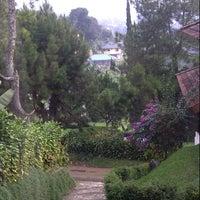 Photo taken at Evergreen Hotel & Cottage Puncak by Lyla S. on 8/10/2013