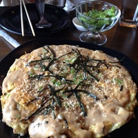 Photo taken at Okonomi Japanese Resturant by Mook P. on 1/4/2014