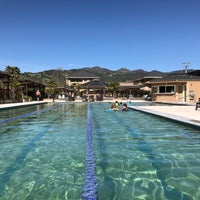 Photo taken at Calistoga Spa Hot Springs by Andre M. on 3/12/2017