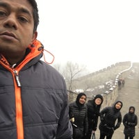 Photo taken at The Great Wall of China - Defense Tower by LuThFy M. on 12/8/2015